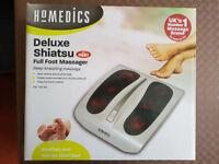 HoMedics Deluxe Shiatsu Foot Sole Massager with Heat BRAND NEW!