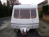 Swift Charisma 540 (2002) 5 Berth Caravan Excellent Condition