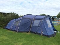 Vango Maritsa 700 family tent complete with carpet