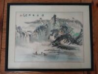 Beautiful Framed chinese print