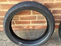 Forsale 2 Michelin tyres From yzf r125