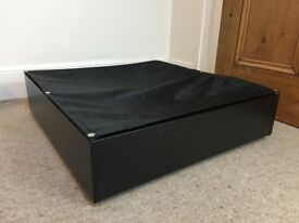 IKEA under-bed storage box 65 x 70 cm (Vardo, black)