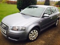 BARGAIN!2006 AUDI A3 SPECIAL EDITION 5 DOOR HATCH 1 YEAR MOT DRIVES LIKE NEW