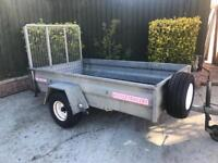 "Wessex 7ft 3"" x 4ft Trailer + ramp/spare wheel"