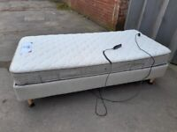 SINGLE ELECTRIC BED AND MATTRESS