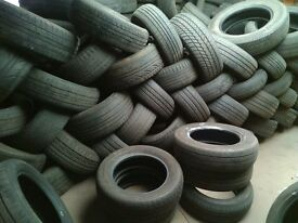 Free part worn tyres for collection