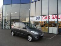 2011 11 HYUNDAI I10 1.2 ACTIVE 5D 85 BHP **** GUARANTEED FINANCE **** PART EX WELCOME