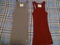 2 Abercrombie and fitch tank tops -size sml