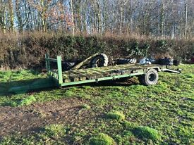 Plant trailer with Ramps