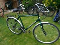 Free Spirit Albany - Hybrid Bicycle with Pannier Rack