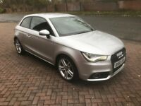 2011 60 Reg Audi A1 Sport S Line 1.4 TFSi 52K Damaged Repaired Cat D BAGAIN DRL