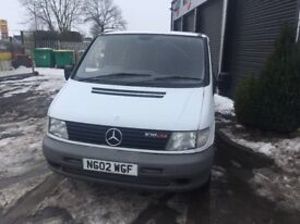 Mercedes Vito campervan fully converted with 12 months MOT