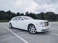 book Rolls Royce Phantom only from £399 / Rolls Royce Phantom EWB only from £550.00