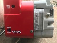 Riello RDB 1 70-90, Oil Fired Burner in Excellent Condition.21.6-40.6Kw Output. Fully Overhauled.