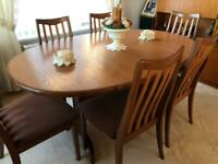 G-Plan Vintage Teak Extendable Dining Table & Chairs