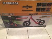 Strider balance bike classic 12 red