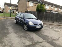 Automatic Renault Clio 5 Doors Blue 1.4 Petrol Full Service History Only 56000 Miles