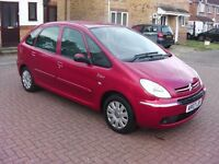 ***TODAY ONLY*** 2007 CITROEN XSARA PICASSO 1.6 PETROL, LONG MOT, HISTORY, ECONOMICAL