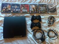 PS3 bundle (2 controllers + 6 games)