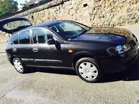 Nissan Almera excellent cars 1 owner with 2 remote keys full FSH n long mot on bargain family car