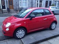 Fiat 500 1.2 POP 2013 26,000 miles red £30 road tax full service history 1 owner