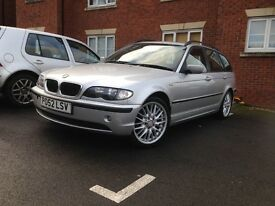 Bmw 320d long Mot good runner
