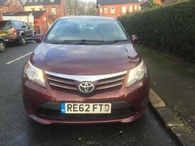 2012 (62)Toyota Avensis 2.0 D-4D T2 4dr 1 OWNER 96339 Miles Full Toyota Service History