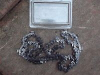 replacement chain for a chain saw