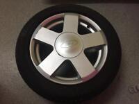 Ford Fiesta Alloy Wheel 185:55:R15