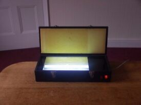 Mega UV exposure unit, for making printed circuit boards, UV labels etc.