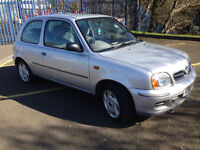 Nissan Micra 1.0 Low Mileage Long MOT