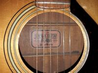 6-string Yamaha FG-180 Acoustic Guitar Nippon Gakki Red Label