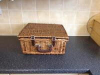 Wicker picnic set