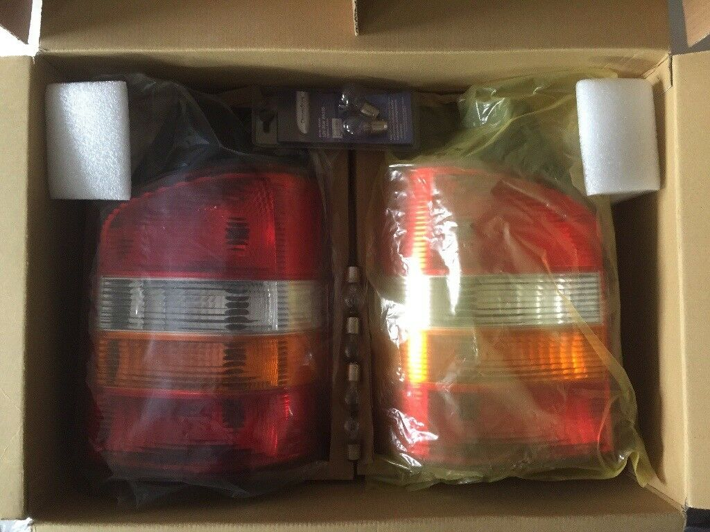 VW T5 rear lights