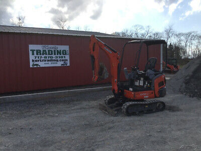 2015 Kubota Kx018-4 Hydraulic Mini Excavator