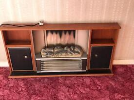Retro electric fire place Belling