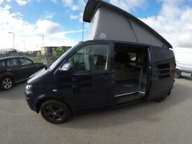 VW T5 140 bhp camper van new conversion 55k miles AC stunning complete vehicle