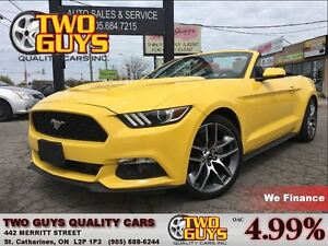 2016 Ford Mustang ECOBOOST LEATHER NAV