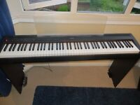 Yamaha P95b Electric Piano with Yamaha L85 Stand and M Audio Pedal