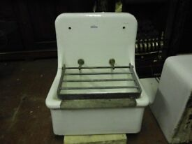 VINTAGE ROYAL DOULTON CLEANERS SINK