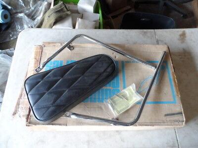 NOS Yamaha 73-75 TX500 XS500 Sissy Bar Pad Black 42210