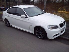 BMW 3 series 320d E90 M sport 50K miles LCI white(may PX scirocco audi mercedes)