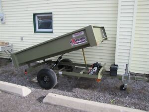 2017 CAM Superline 1.5 TON EXTREME-ROAD-AND-TRAIL DUMP TRAILER
