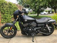 HARLEY DAVIDSON STREET XG750 2019my 2200 miles from new