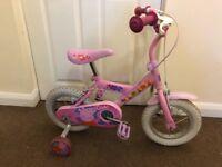 """Peppa Pig 12"""" kids bike"""