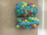 Soft play / ball pool balls