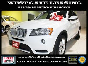 2013 BMW X3 2L AWD | LEATHER | HEATED SEATS |