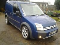 ford transit connect t200 st sports tdci 110 2009 09 reg fully loaded cheapest on the net £4395 ...