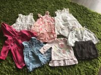 0-3 months bundle of girls dresses/outfits. Next, M&S, Jasper Conran, TU