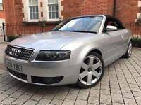 2004 Audi S4 4.2 Quattro cabriolet convertible **SHOWROOM CONDITION** RED LEATHER** not a4